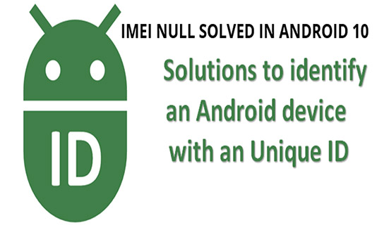 Getting the IMEI ID null from the telephonymanager. What to do?